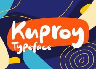 Kuproy Font