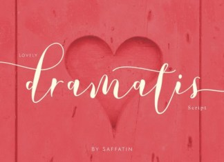 Lovely Dramatis Font