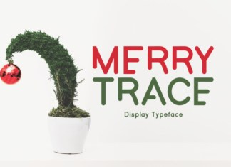 Merry Trace Font