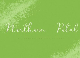 Northern Petal Font