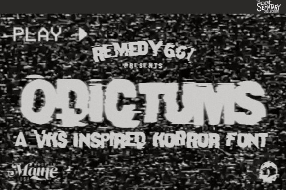 Odictums Font
