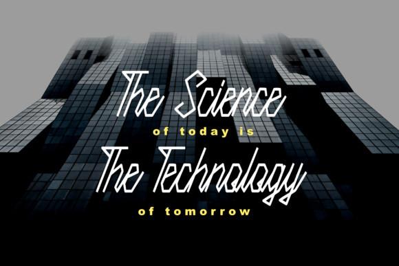 Science Tech Font