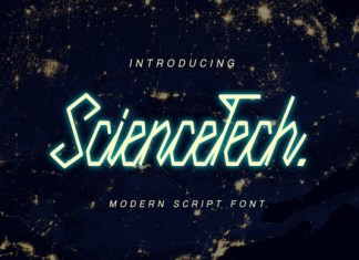 Science Tech Font