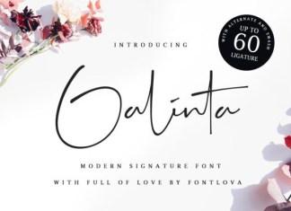 Galinta Font