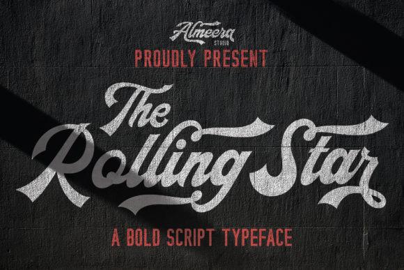 The Rollingstar Font