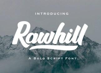 Rawhill Font