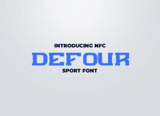 Defour Font