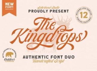 The Kingdrops Font