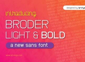 Broder Font