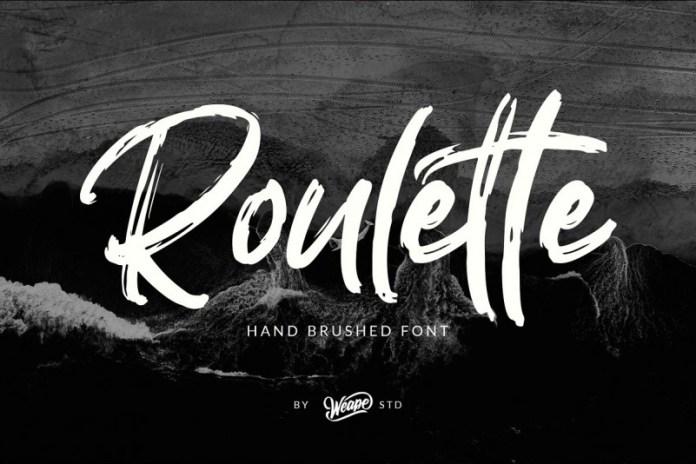 Roulette Font