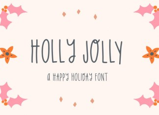 Holly Jolly Holiday Font
