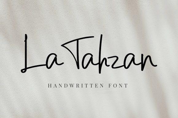LaTahzan Font