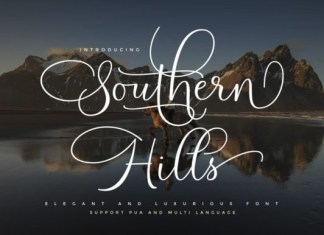 Southern Hills Font