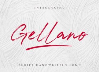 Gellano Font