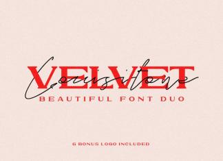 VELVET LOUSITONE Font
