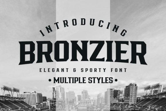 Bronzier Font