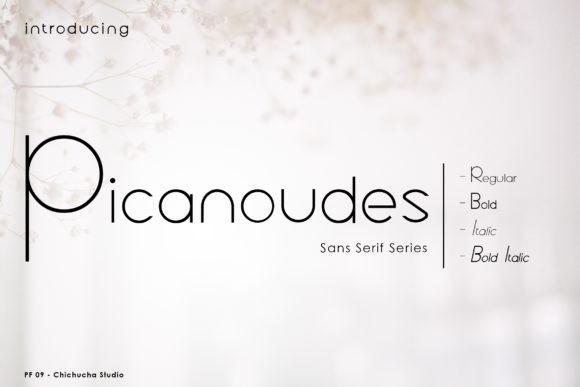 Picanoudes Font