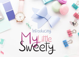 My Little Sweety Font