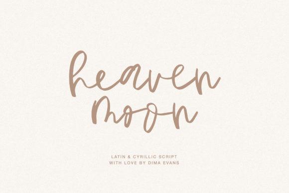 Heavenmoon Font