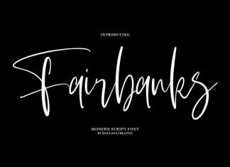 Fairbanks Font