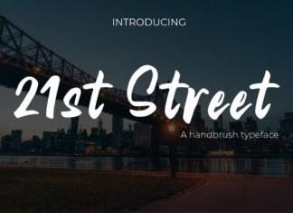 21st Street Font
