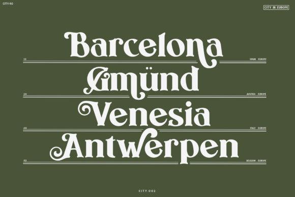 Benaco Font