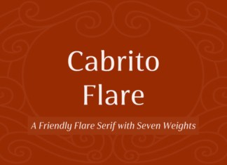 Cabrito Flare Font