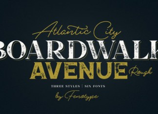 Boardwalk Avenue Font