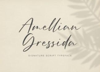 Amellian Gressida Font