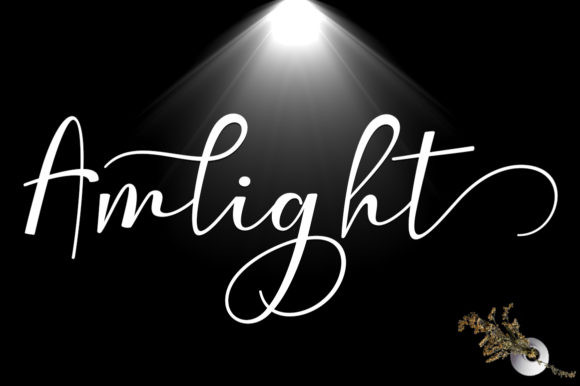 Amlight Font