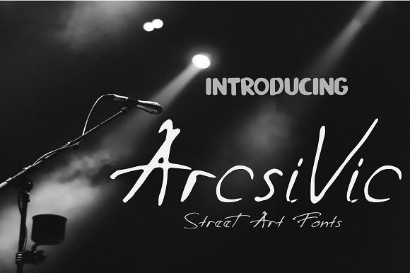 Arcsivic Font