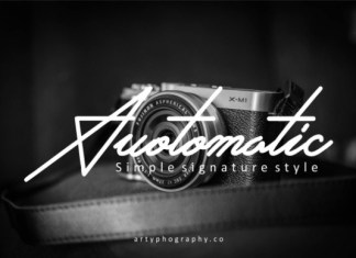 Auotomatic Font