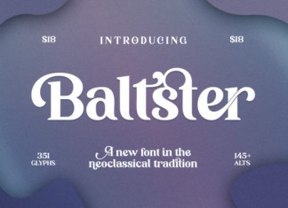 Baltster Font
