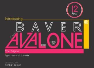 Baver Avalone Font