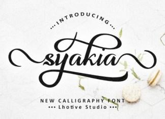 Syakia Font