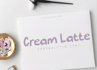 Cream Latte Font