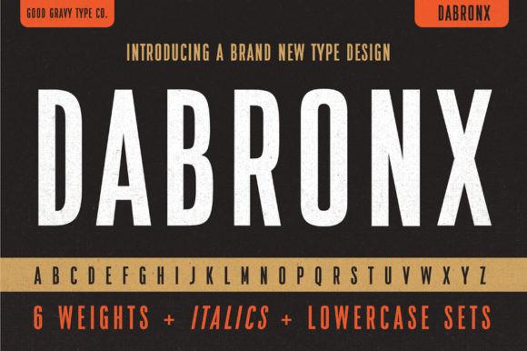 Dabronx Font