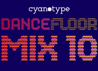 Dance Floor Mix 10 Font