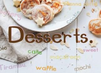 Dessert Font