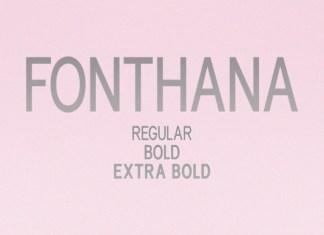 Fonthana Font