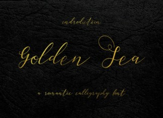 Golden Sea Font