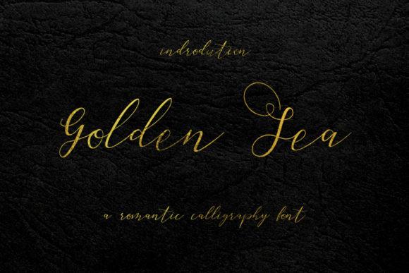 Golden Sea Font