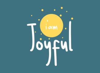 I Am Joyful Font