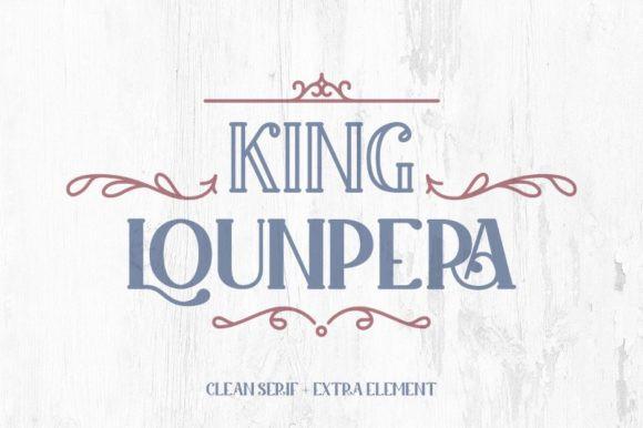King Lounpera Font