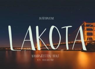 Lakota Font