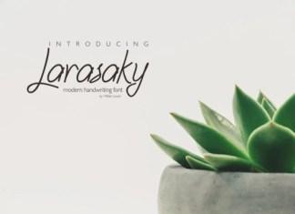 Larasaky Font