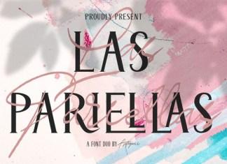 Las Pariellas Duo Font