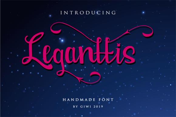 Leganttis Font