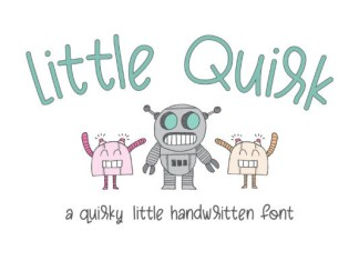 Little Quirk Font