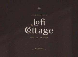 Lofi Cottage Font